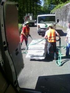 trasporto e manutenzione serramenti in pvc